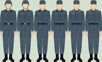 Die luftwaffe field uniforms2