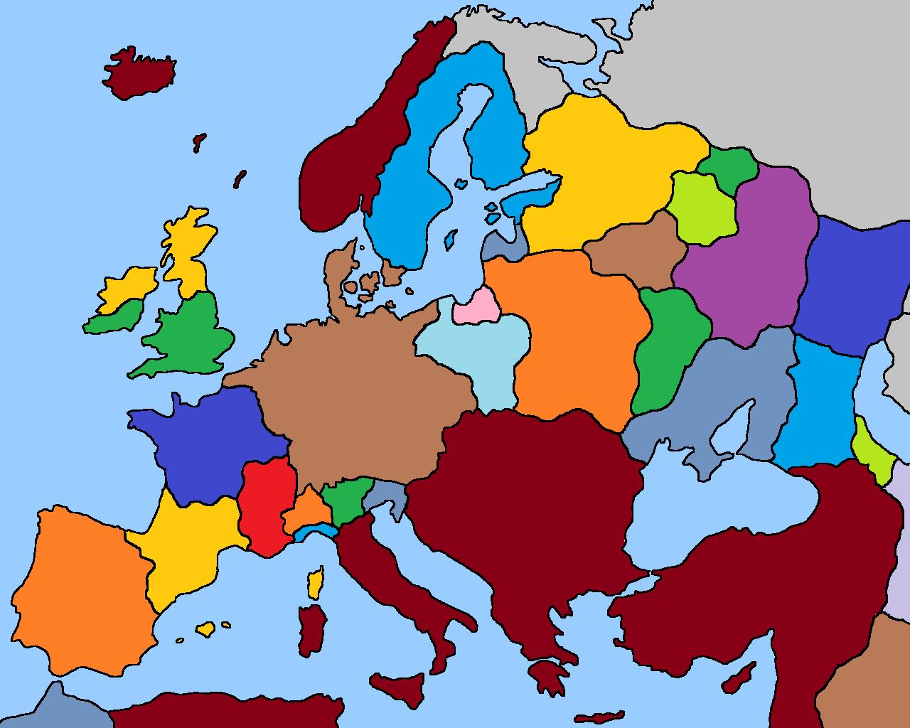 Image - Europe 1500 (Fidem Pacis).png | Alternative History | FANDOM ...