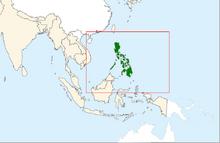 Filipinas mapa