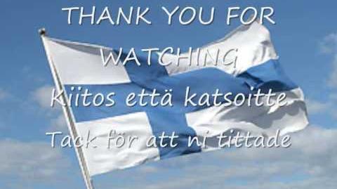 Maamme - Vårt Land (Our Land) Finland Anthem with lyrics