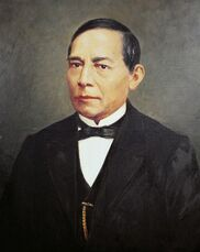 Portrait of benito juarez 1806