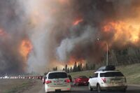 Wildfire near Fort McMurray