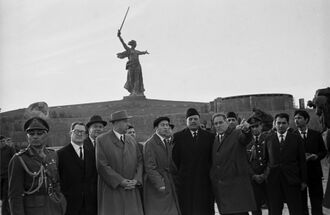 Айюб Хан в СССР