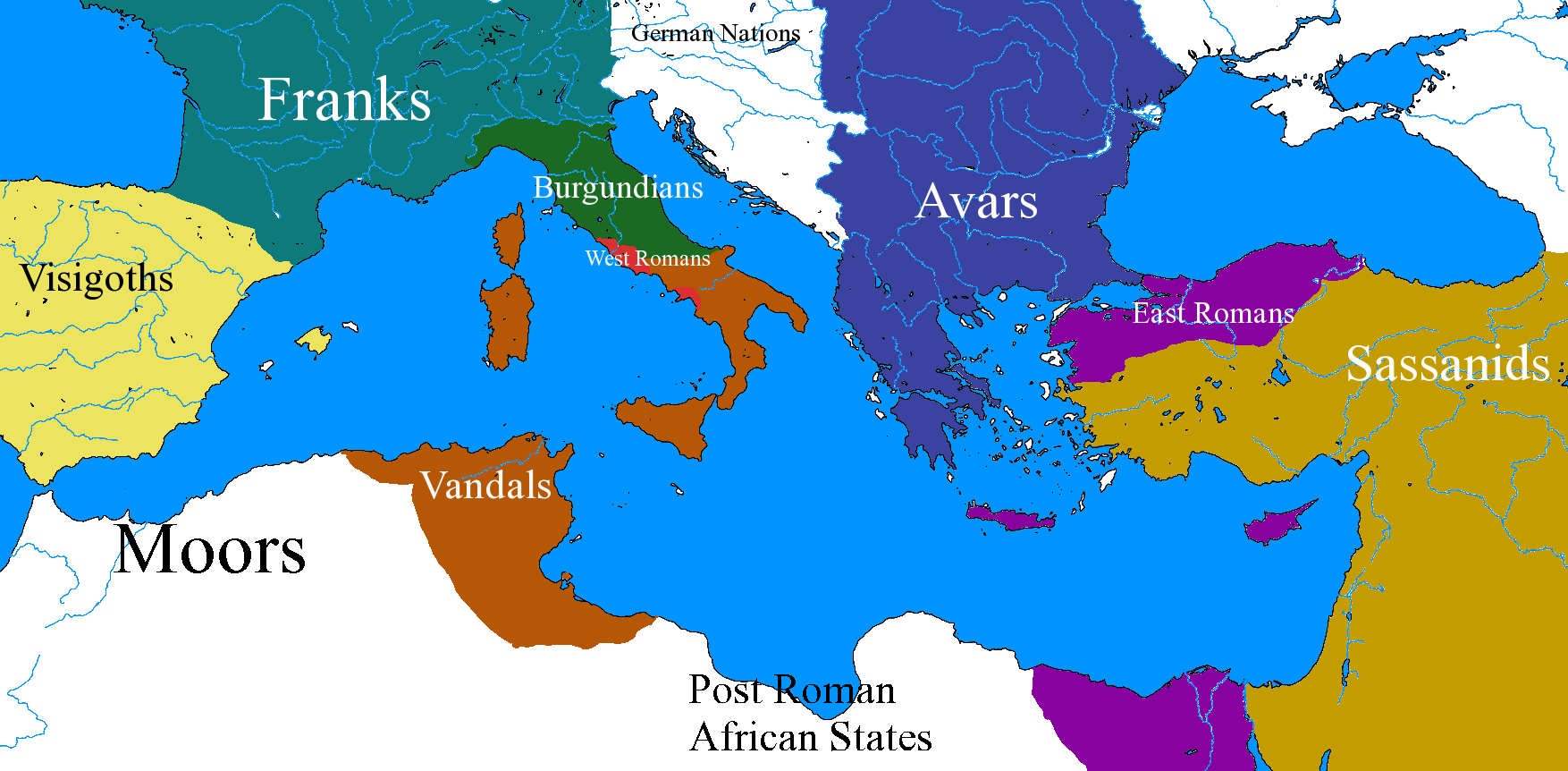 West Roman Empire (Thriving West Rome) | Alternative ...