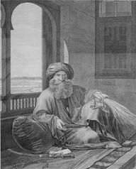 Murad Bey by Dutertre in Description de l Egypte 1809