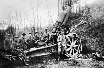Венгерские артиллеристы