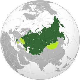 Карта СНГ 2020