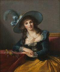 Comtesse Louis-Philippe de Segur (1756-1828), by Louise Élisabeth Vigée Le Brun