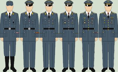 Die luftwaffe dress uniforms2