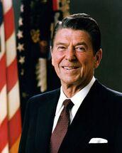 Official Portrait of President Reagan 1981