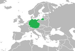 World Map 2000 Germany