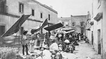 Рынок в Мехико