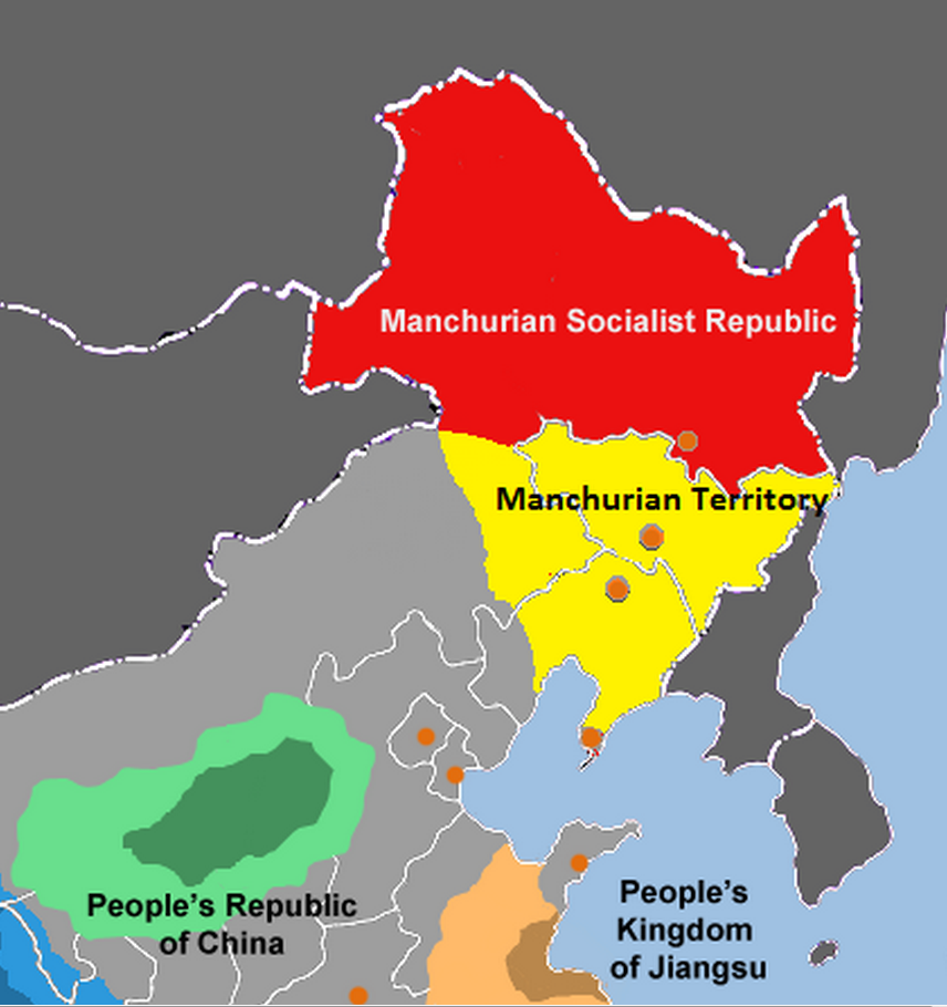 Manchurian Territory 1983 Doomsday Alternative History Fandom