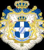 Герб Греции а-ля Виттельсбах