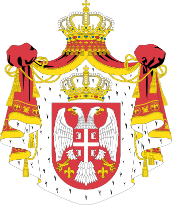 File:Coat of arms of Serbian Kingdom.png