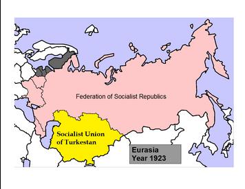 Eurasia 1923