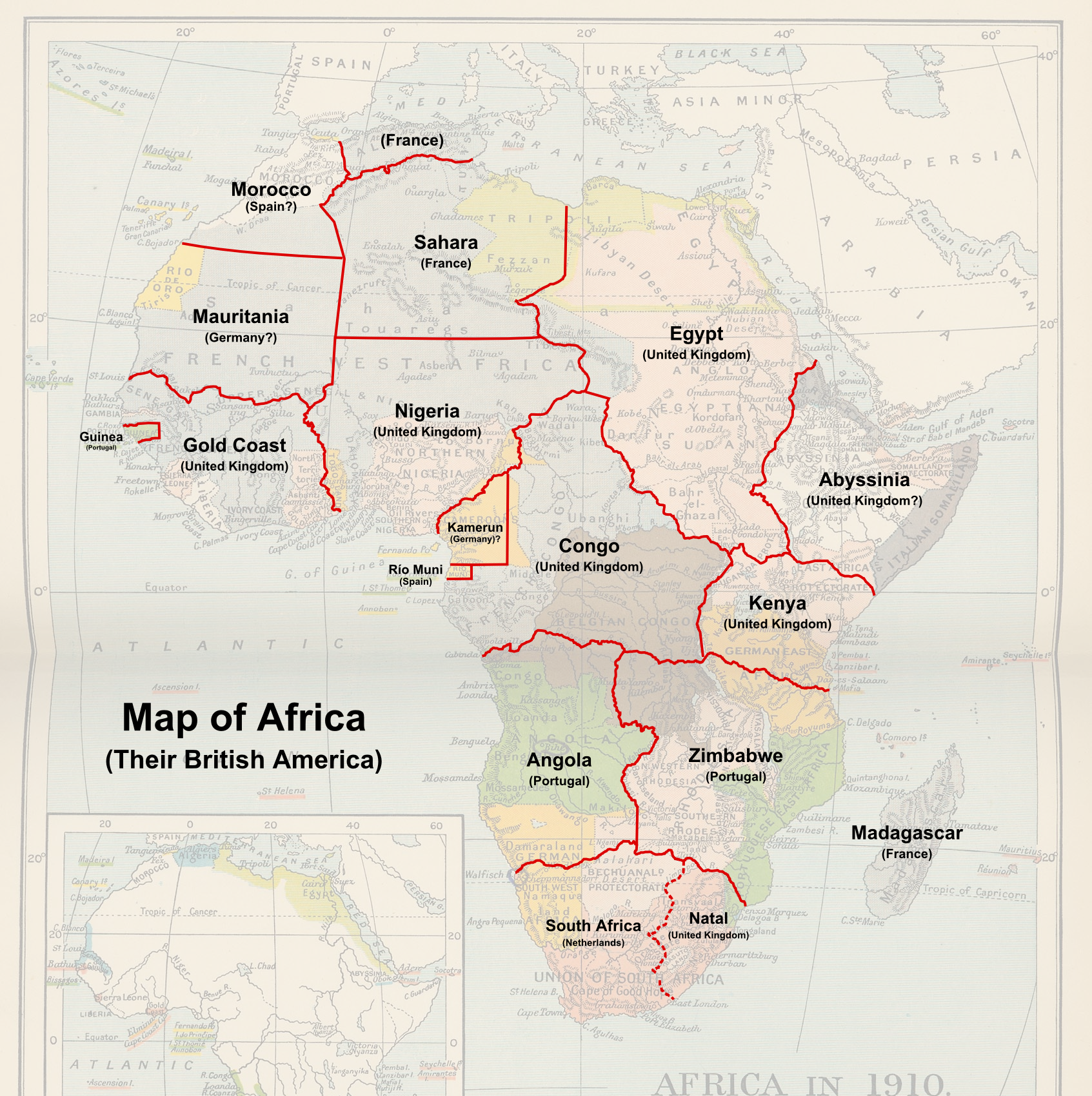 alternate history africa map