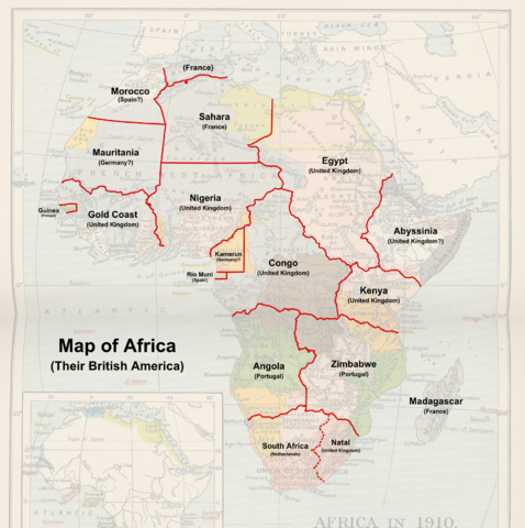 Image  Map of Africa Their British Americapng  Alternative