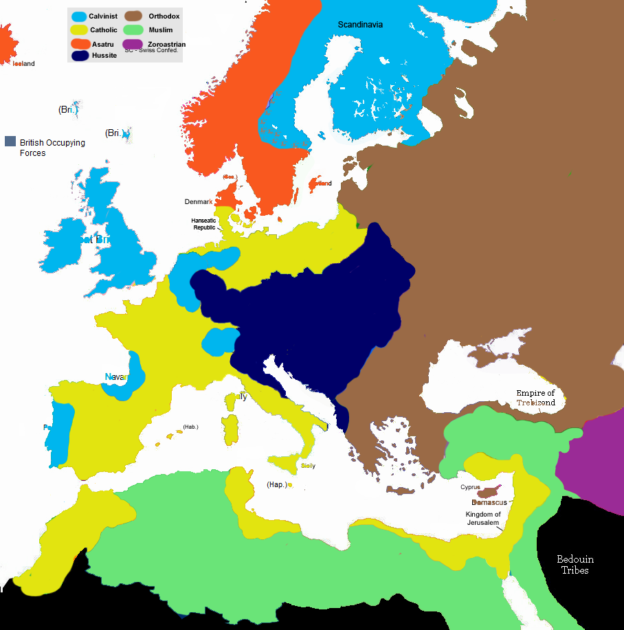 Alternative Map Of Europe.Talk Europe 1430 Map Game Alternative History Fandom Powered