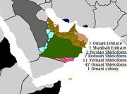 The Arabian Federation, 1607