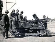 Vickers MKVI Beutepanzer