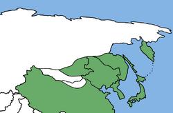 Максимальное продвижение Японских войск (МРГ)