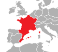 Location of France (Satomi Maiden ~ Third Power).png
