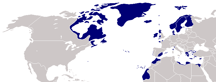 map of nato countriespng