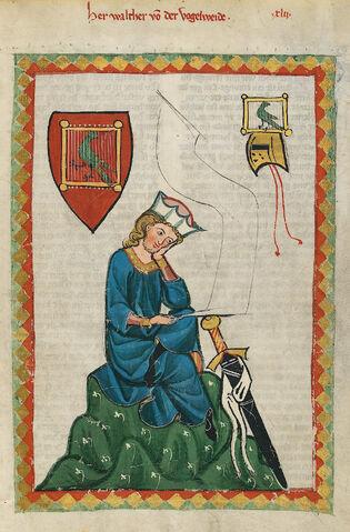 File:Codex Manesse Walther von der Vogelweide.jpg