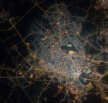 Foto satelital de Saigón