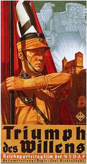 Triumph des Willens poster
