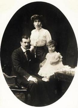 Карл Густав с семьёй
