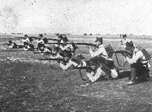 Учения румынская армии