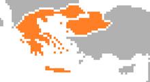 Location of Greece (SM 3rd Power)