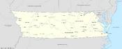 Map of Virginia (13 Fallen Stars)
