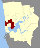Map of Nedlands County