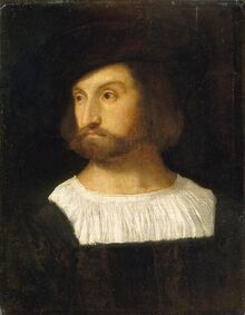 Portrait-of-a-Man-Titian-Oil-Painting