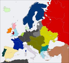Post-WW1 Europe