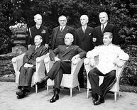 Potsdam Conference group portrait, July 1945