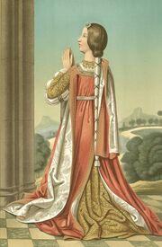 1855-1864, Iconografía española, tomo II, Estampa 61, La princesa doña Isabel, hija de los Reyes Católicos (cropped)