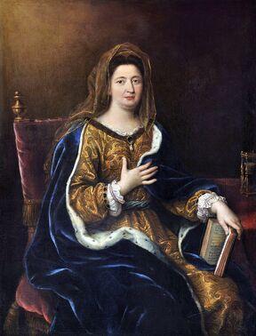 800px-Pierre Mignard - Françoise d'Aubigné, marquise de Maintenon (1694)