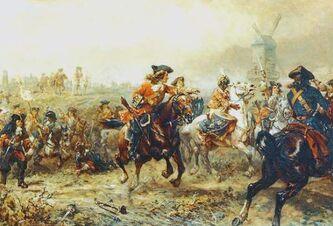 King's Horse at Ramillies 1706