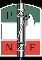 National Fascist Party logo