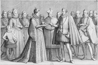 Свадьба Альфонсо XIII и Филиберты Лотарингской