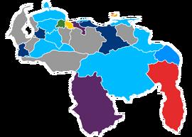 Gobernaciones Venezuela 2019