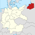Locator map Prussia in Germany (IM)