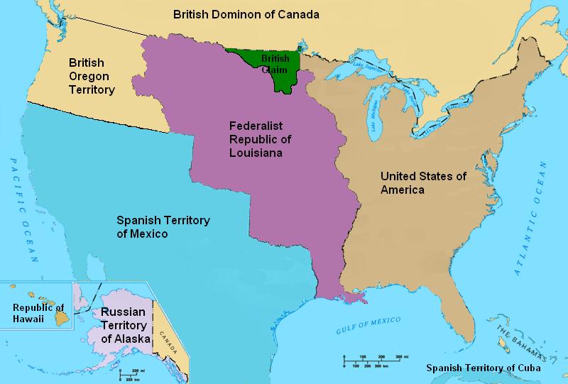 Image - North America in 1821.PNG | Alternative History | FANDOM ...