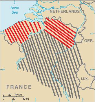 Belgium split