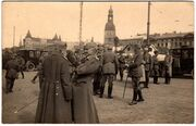 German officers riga ww1
