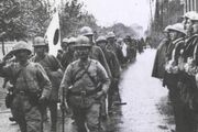 Japanese Victory parade